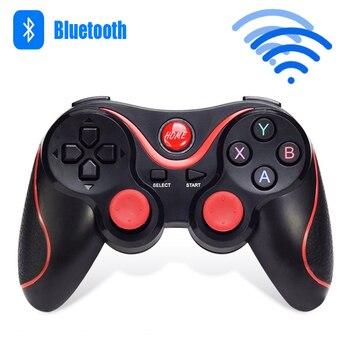 f3bb9ec9360 T3 juego de Bluetooth inalámbrico VR X3 S600 gatillo disparos de fuego Joystick  Gamepad para IOS Android de la PC del teléfono móvil
