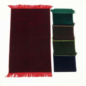 Image 2 - רגיל צבע האסלאמי תפילת שטיח שטיח תפילה מוסלמי JaNamaz סאלאט עיד אל adha מתנה