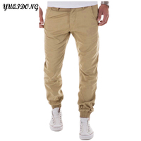 YUQIDONG Mens Casual Pants Trousers 2017 New Joggers Autumn Free Style Men S Pure Color Leisure