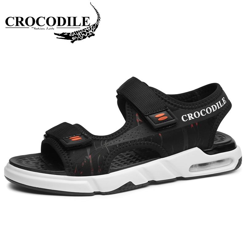 Crocodile Men s Sneaker Outdoor Sandals Men Air Cushioning Sneakers Footwear Male Running Sport Shoes Beach