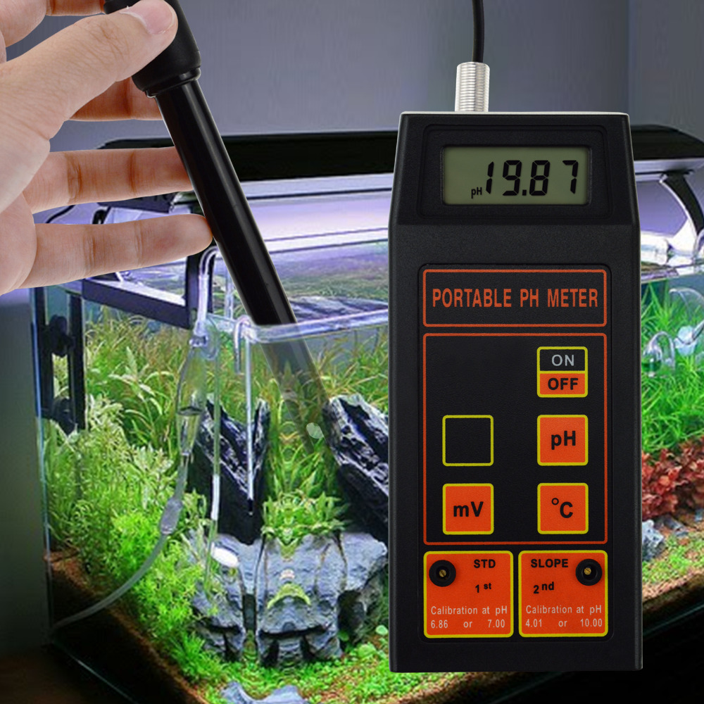Digital pH / ORP mV / Temperature Meter Water Quality Tester Replaceable pH ORP Electrode Laboratory Test, Hydroponics Water-in PH Meters from Tools    3