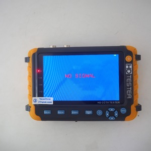 Image 4 - CCTV TESTER 5MP בטיחות הגנת 5 אינץ Tester AHD TVI 4MP CVI אנלוגי CCTV Tester צג VGA HDMI UTP כבל מבחן 8W
