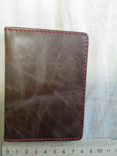 Men's Genuine Leather Driver License Holder High Quality Credit Card Case credit Card Holder Real Leather Cowhide Slim ID Wallet photo review