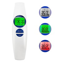 Digital Infrared Thermometer Baby/Adult Non contact Forehead Handheld Medical Accurate Fever Alarm With LCD Backlight Household