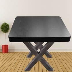 Оригинальный цветной стол ножки X-frame Металлический обеденный стол 720X600 мм