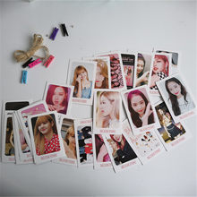 32pcs/set BLACKPINK LOMO Card NEW Album Self Made Paper Photo Card Poster KILL THIS LOVE LISA JISOO JENNIE BLINK YG110(China)