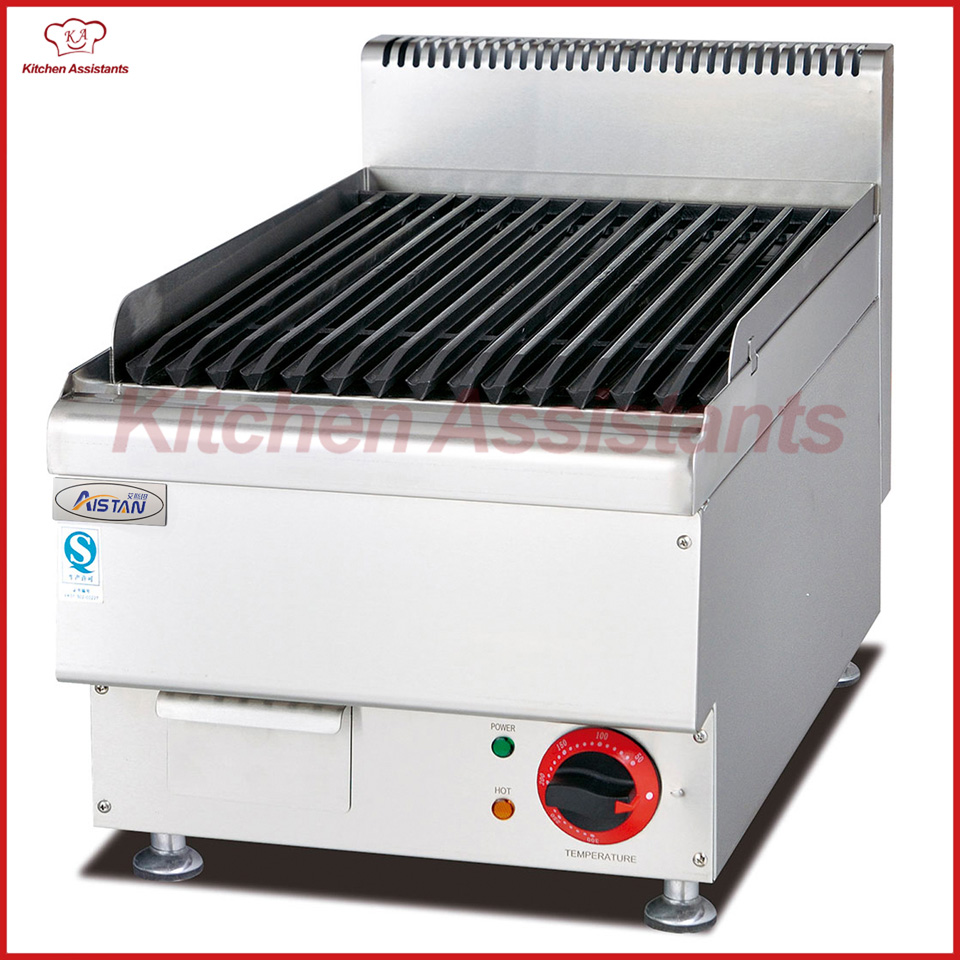 EH649 Electric Lava Rock Grill for commercial kitchen