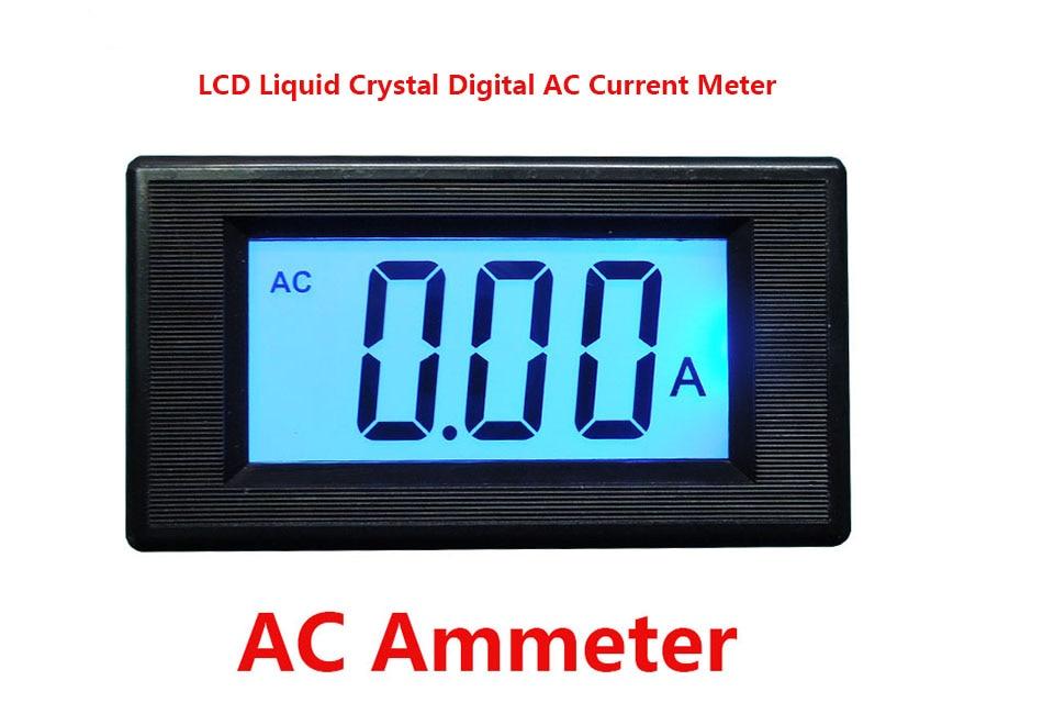 Digital Ac Ammeter Circuit Diagram 1999 Gmc Sierra Radio Wiring Yb5135d Three And A Half Lcd Liquid Crystal Non Transformer Head