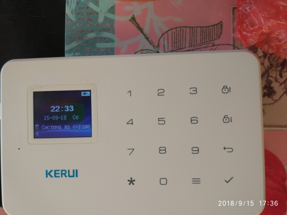 KERUI GSM охранная сигнализация  Русская прошивка Дистанционное управление Приложение для IOS/Android
