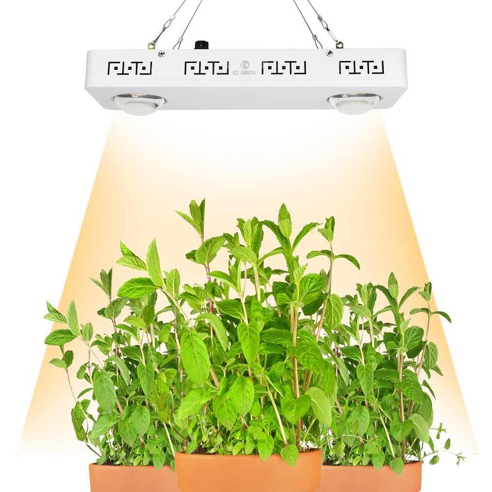 Диммируемый CREE CXB3590 200 Вт COB светодиодный свет для выращивания всего спектра 26000лм = HPS 400 Вт лампа для выращивания растений в помещении
