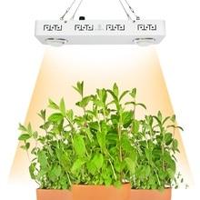 Затемнения CREE CXB3590 200 Вт удара светодио дный светать полный спектр 26000LM = HPS 400 Вт растет лампы для комнатных растений все стадии роста