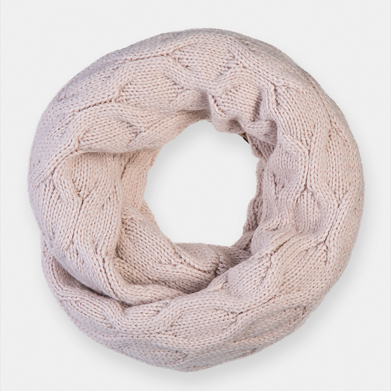 Scarf for women Canoe 3449920 AIRS chic blue small horse scrawl pattern white voile bib scarf for women