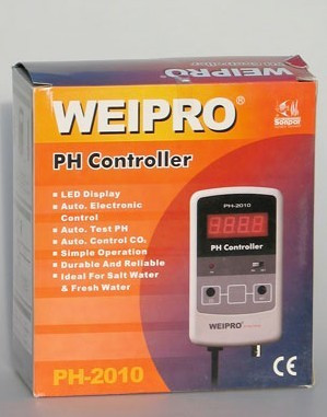 Weipro PH 2010A Ph Meter & Value Controller Fresh Salt PH Online Monitor, Good Quality Reliable