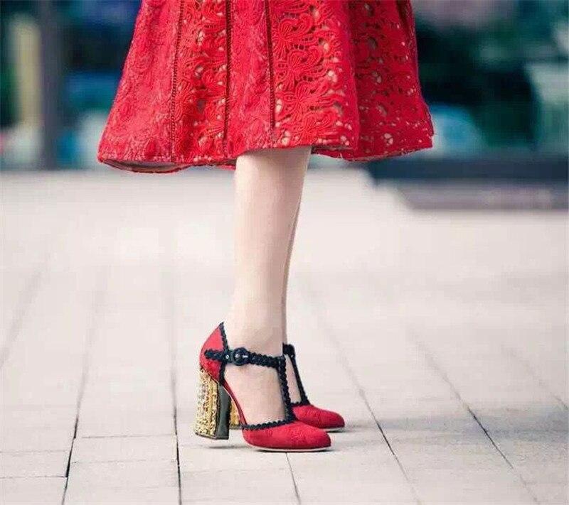 as Novia Dedo Redondo Cuadrados Zapatos Shown Superficiales Fiesta Atada As t Tacones Pie Mujeres La Boda Las De Correa Tobillo Del Shown Pista Altos Bomba qngwPRF