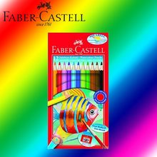 Originale Faber Castell 114461 Aquarell Matita Acquerello scatola di Cartone di 12 & Brush NEW()