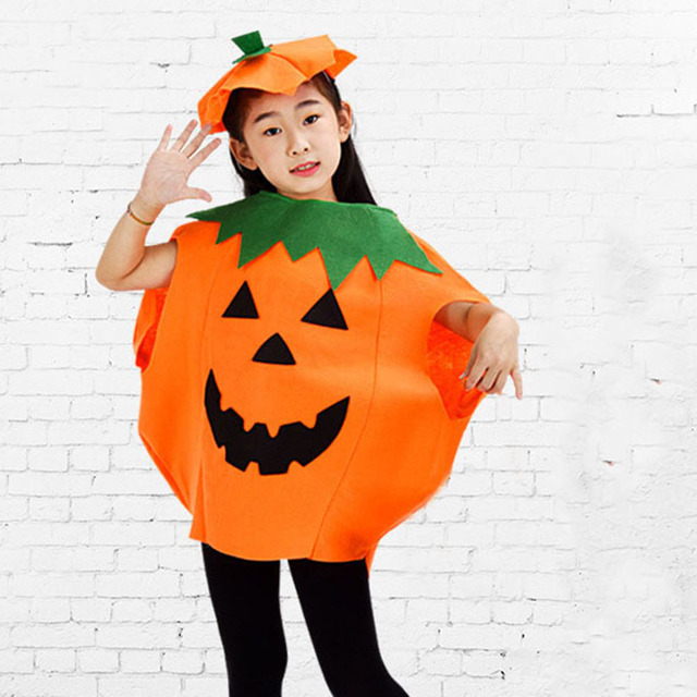 pumpkin halloween fancy dress party adults kids children cosplay costume outfit