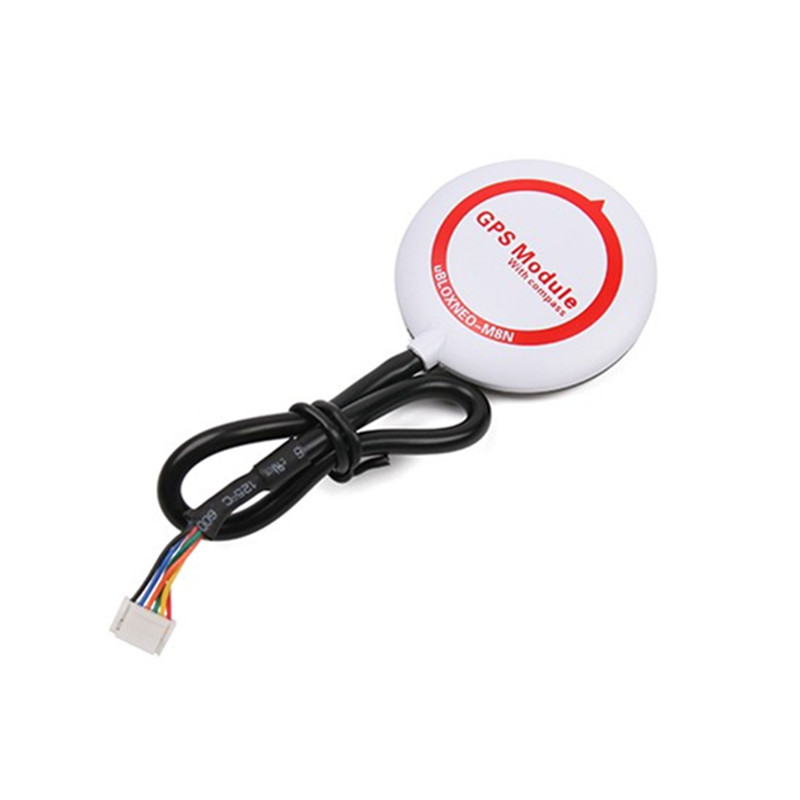 Mini Ublox NEO-M8N GPS Module With Compasses For Pixracer Flight Controller RC Camera Drone FPV Racing Spare Part mini ublox neo m8n gps module with com pass for pixracer flight controller 45x45x10mm for rc multirotor parts diy toy accessory