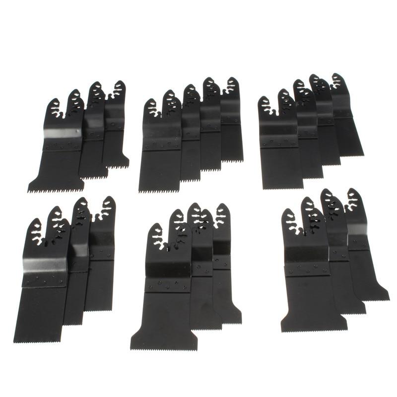 20Pcs/set Universal Oscillating Multi Tool Saw Blade Set For Fein Makita Multimaster Dremel Multi Tools