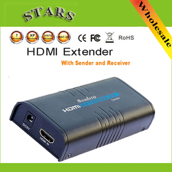 New LKV373 Wireless hdmi Ethernet Network only Receiver 100M over Cat5e/CAT6 cable,Free Shipping DropShipping