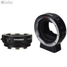 Адаптер автофокуса YONGNUO для Canon EF EOS, кольцевой адаптер для объектива Sony NEX, E Mount A9, A7, A7RIII/II, A7SII, A6500