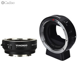 YONGNUO EF-E II Auto Focus Adapter Ring Lens Adapter Mount for Canon EF EOS Lens to Sony NEX E-Mount A9 A7 A7RIII/II A7SII A6500