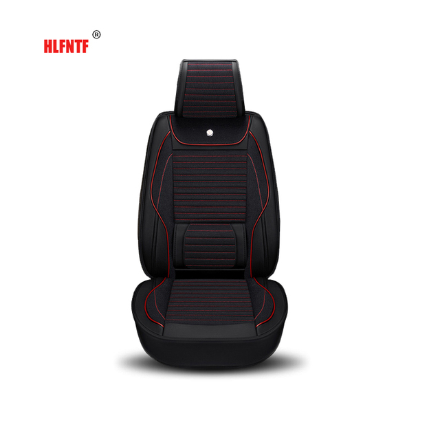 Linnen plus lederen Auto Bekleding Interieur Accessoires Automobiles ...