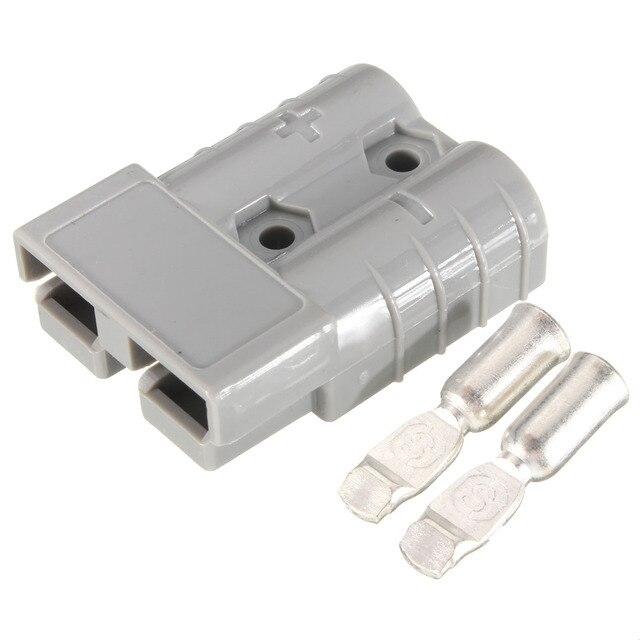 Rot/Blau/Grau 50A 8AWG Batterie Schnellkupplung Stecker Verbinden ...