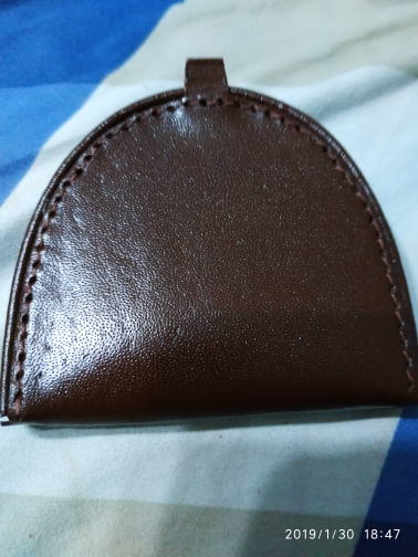 BELLO TUTTI Genuine Pigskin Leather Coin Purse Small Wallet Real Leather Vintage Design Individuation Purse Men Women Coin Bag photo review