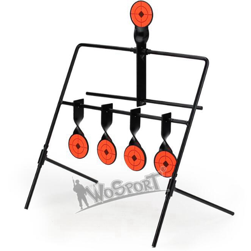 Target Shooting Target For Airsoft Black Color Hunting Accessories Shooting CS Wargame 5 Targets