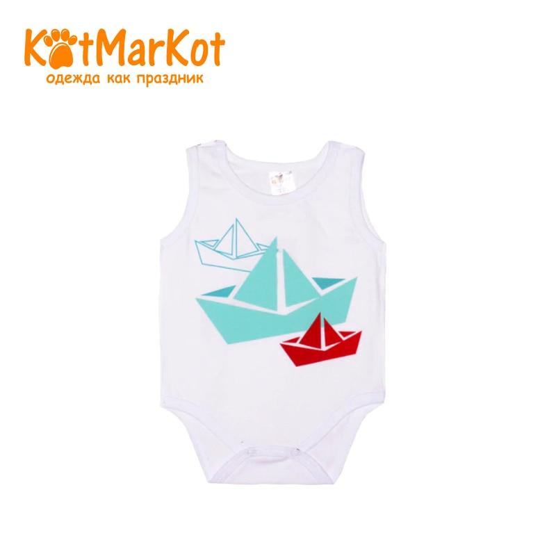 Bodysuit Kotmarkot 9557 children clothing cotton for baby boys kid clothes db4072 dave bella autumn baby boys red clothing set patchwork clothing set