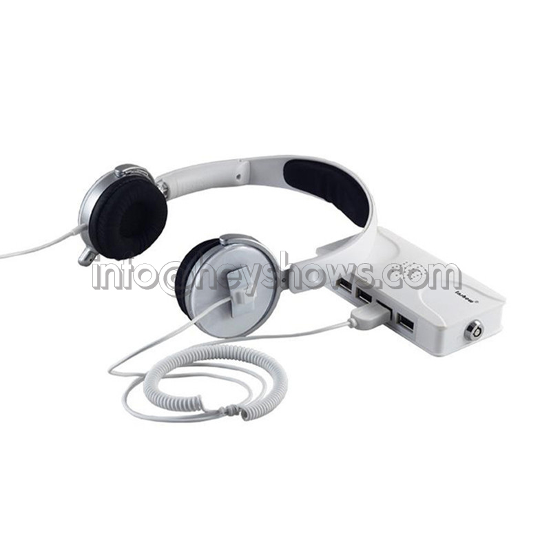 8 Ports Headphone Security Alarm System Laptop Display Alarm Toothbrush Anti Theft Box Camera Seguridad Cable For Retail Shop image