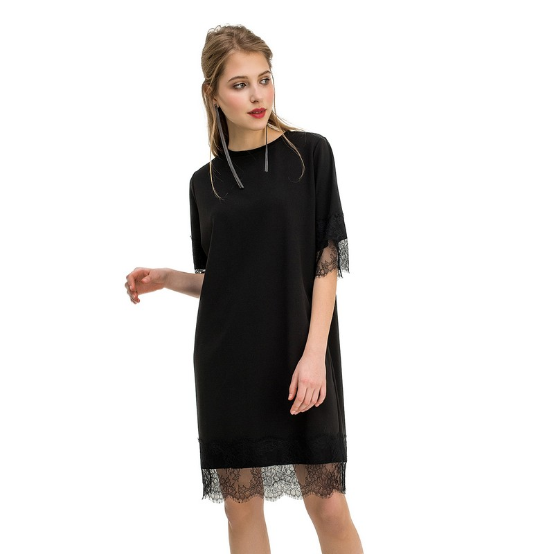 Dresses dress befree for female  half sleeve women clothes apparel  casual spring 1811554599-50 TmallFS