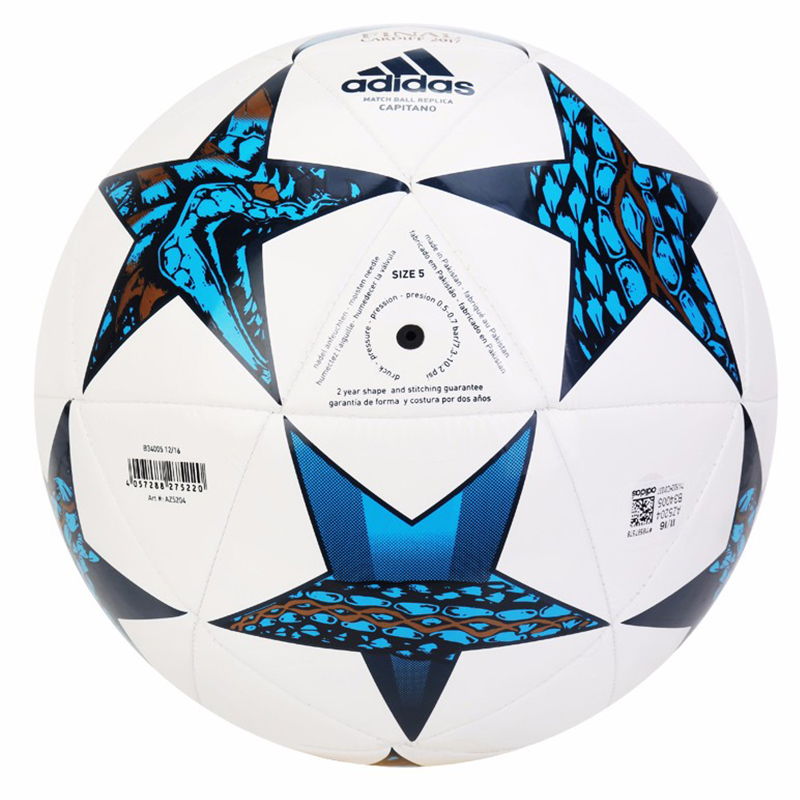 Adelantar nacimiento Meyella  Adidas AZ5204 Soccer Ball Official Size Football Goal League Ball Outdoor  Sport Training Balls Finale Cardiff Cap|cap a|cap capcap outdoor -  AliExpress