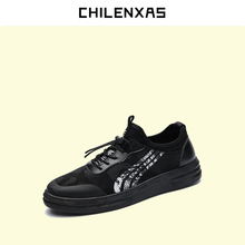CHILENXAS 2017 Spring Autumn Leather font b Shoes b font Men font b Casual b font
