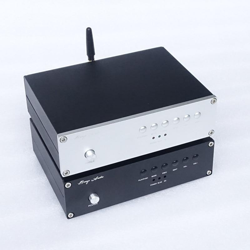 Brise Audio C20 Desktop Musik Player Bluetooth 4,2 Usb Dac Es9018k2m/es9028q2m Unterstützung Sd-karte Usb Bluetooth Mit Einem LangjäHrigen Ruf Desktop Digitaler Musik-player Unterhaltungselektronik