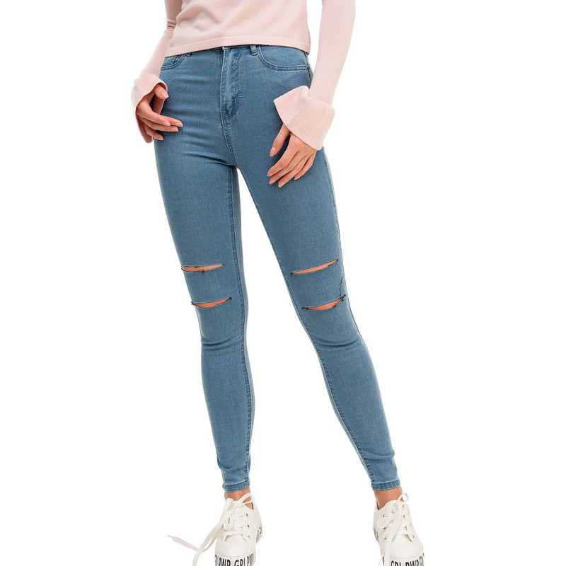 Jeans befree for female cotton pants women clothes apparel  1811311752-102 TmallFS платье befree befree be031ewylt69