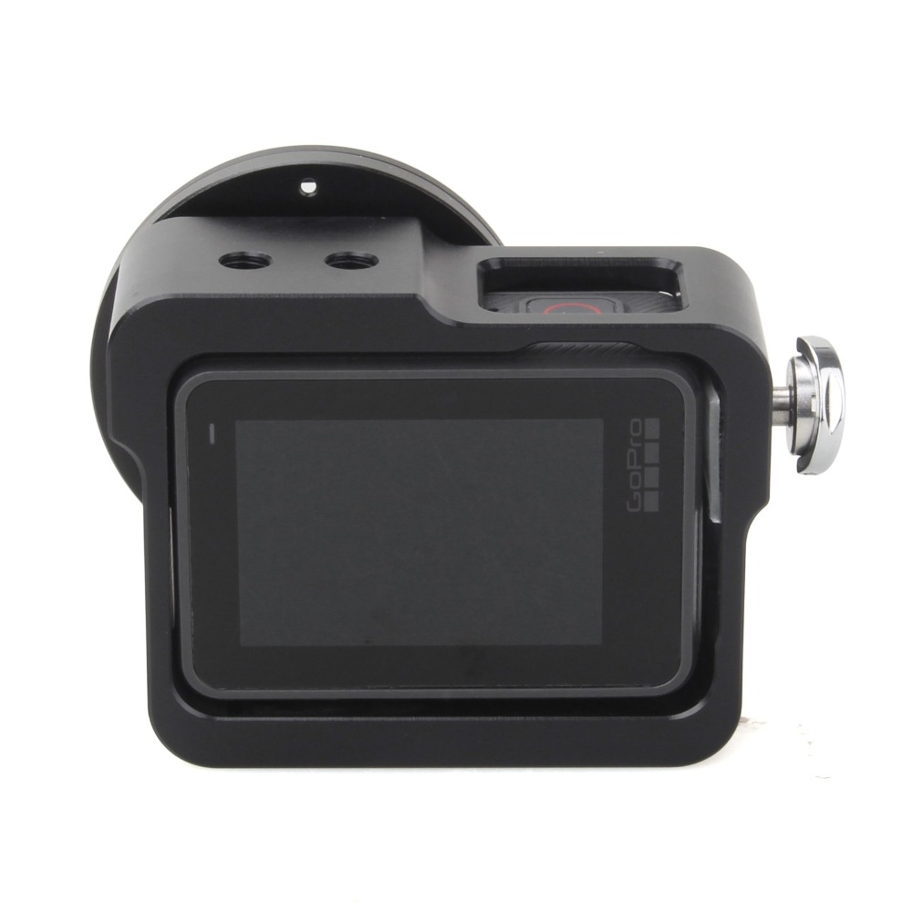 Image 2 - EACHSHOT Aluminium Alloy Skeleton Thick Solid Protective Case Shell with 52mm Uv Filter for Gopro Hero 7 6 5 Camera-in Sports Camcorder Cases from Consumer Electronics