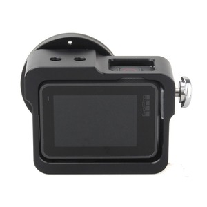 Image 2 - EACHSHOT Aluminium Alloy Skeleton Thick Solid Protective Case Shell with 52mm Uv Filter for Gopro Hero 7 6 5 Camera