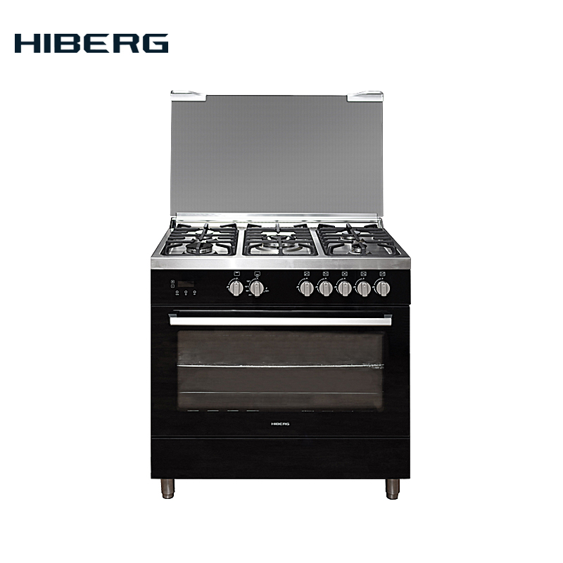 Gas Cooker HIBERG FGG 950-25 MB, With Cast-iron Grills And A Grill