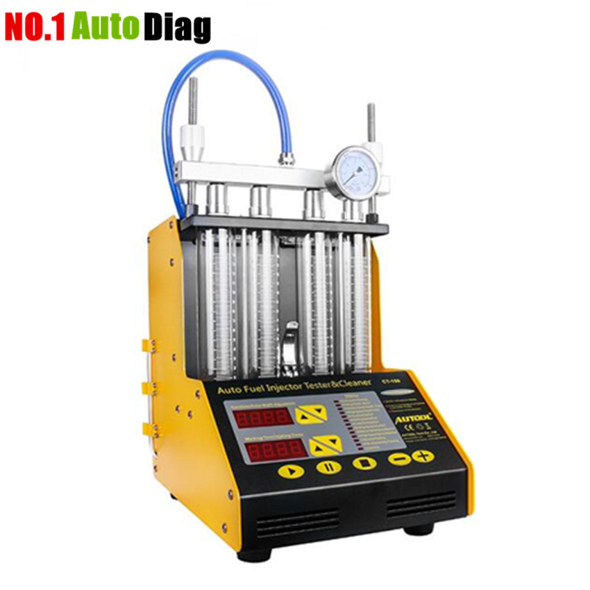 In Stock New Arrival AUTOOL CT150 Ultrasonic Auto FUEL Injector Cleaner Tester English Panel 220V 110V