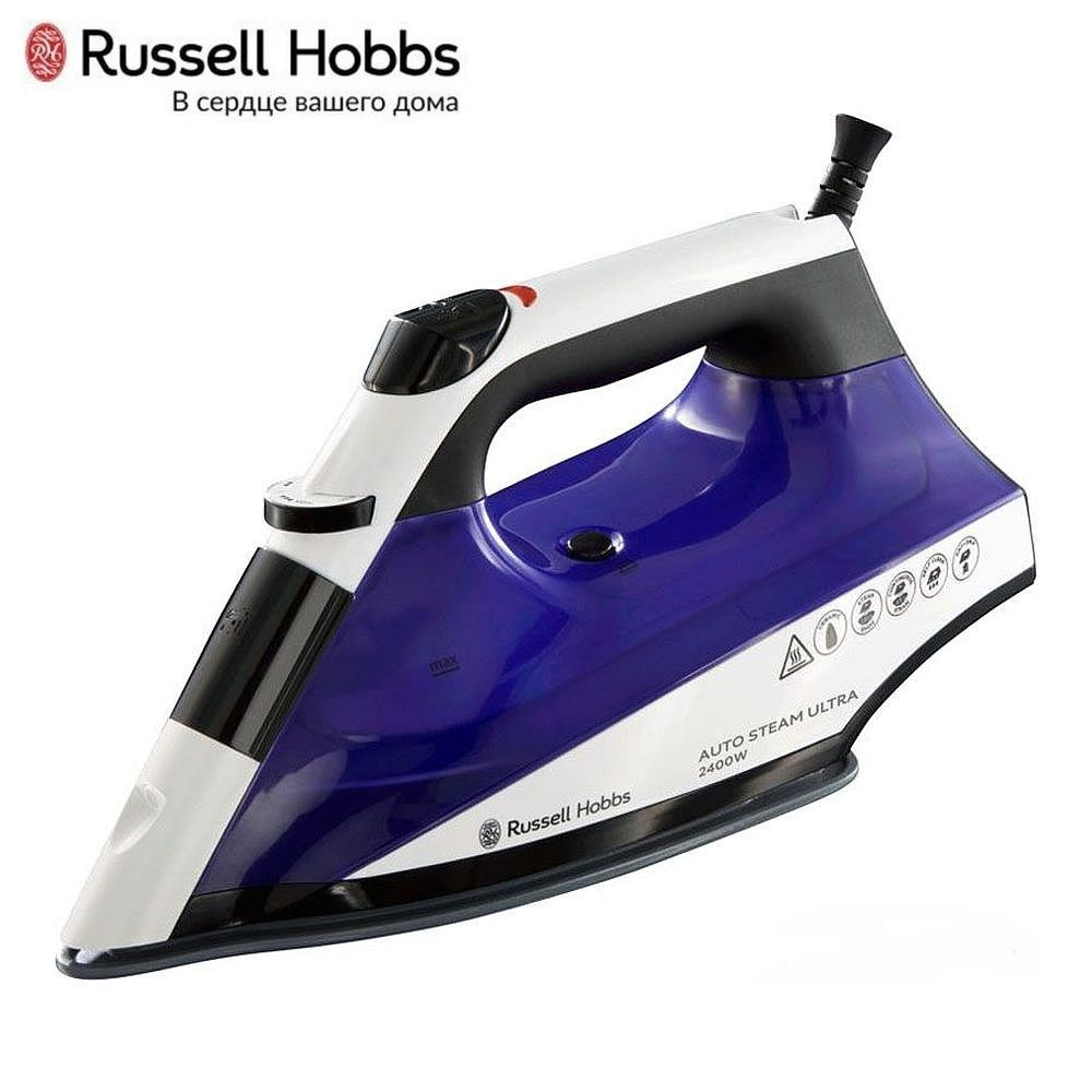 Iron Russell Hobbs 22523-56 Iron for ironing Mini iron steam iron Steam generator for clothing Irons Electric steamgenerator Small iron недорого