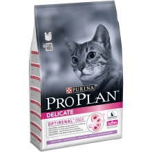 Набор сухого корма Purina Pro Plan для кошек с чувствительным пищеварением и привередливых к еде, с индейкой, 4 пакета по 3 кг