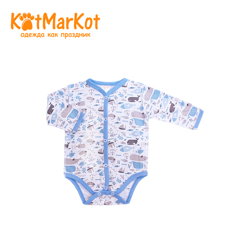 Bodysuit Kotmarkot 9458 children clothing cotton for baby boys kid clothes bodysuit baby