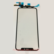 For iPhone X 10 Digitizer Screen Front Outer  Glass Lens with Touch Flex Touch Panel Cable Replacement Parts
