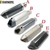 Байк 51/61/36 мм АК глушитель труба для Yamaha tricker DT TW PW RT 50 80 85 90 100 125 225 230 250 426