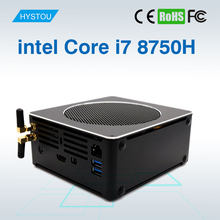 HYSTOU Windows Mini PC i7 8750H 6 Core 12 Threads DDR4 Nuc Windows 10 Pro Linux Small Computer AC Wifi Bluetooth Mini DP HDMI(China)