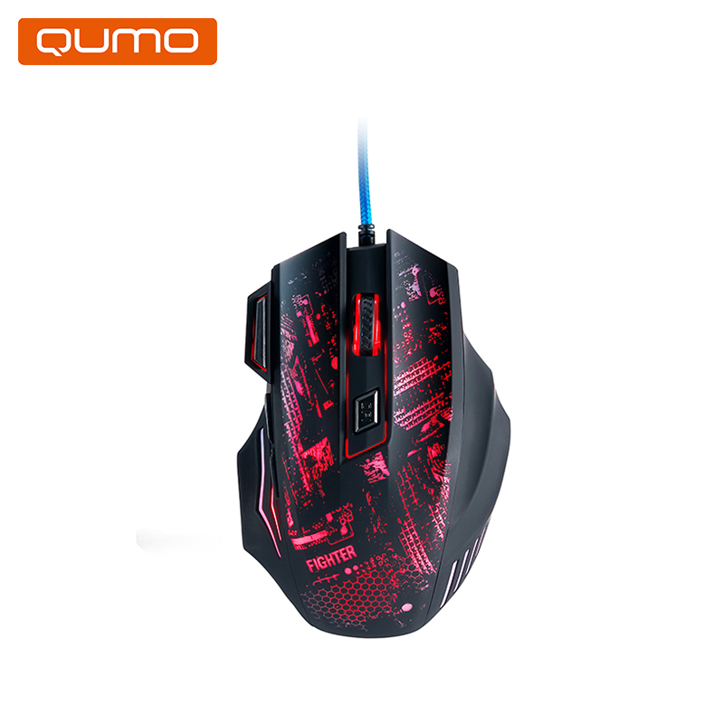 Gaming Mouse Qumo Fighter M38 gaming headset qumo champion ghs 0001