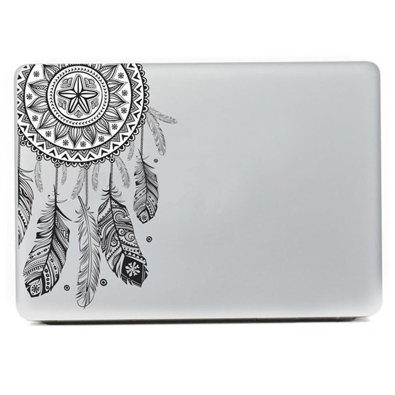 Fashion Dream Catcher Sticker For Laptop Computer Tablet PC Notebook Stickers Cute PVC Stickers Cars Decal Home Decor