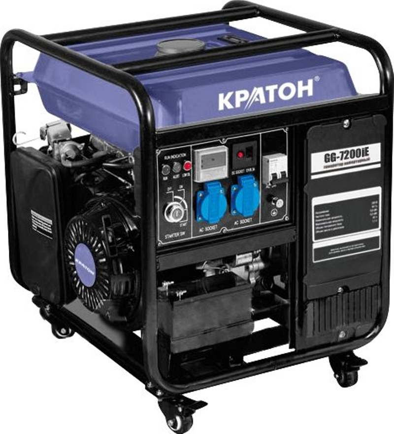 Gasoline Inverter Generator KRATON GG-7200iE ef5500te automatic voltage regulator gasoline