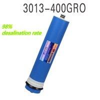 400 Gpd Reverse Osmosis Filter Reverse Osmosis Membrane 98 Desalination Rate Membrane Water Filters Cartridges Ro